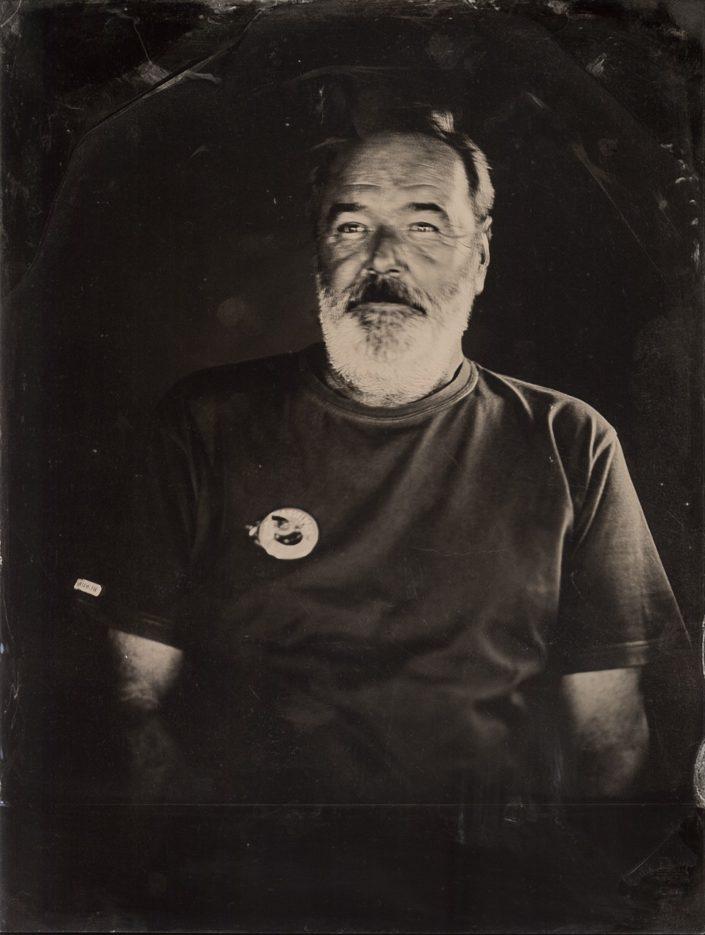 Svatopluk kolodium Jan Kratochvíl fotograf Třebíč