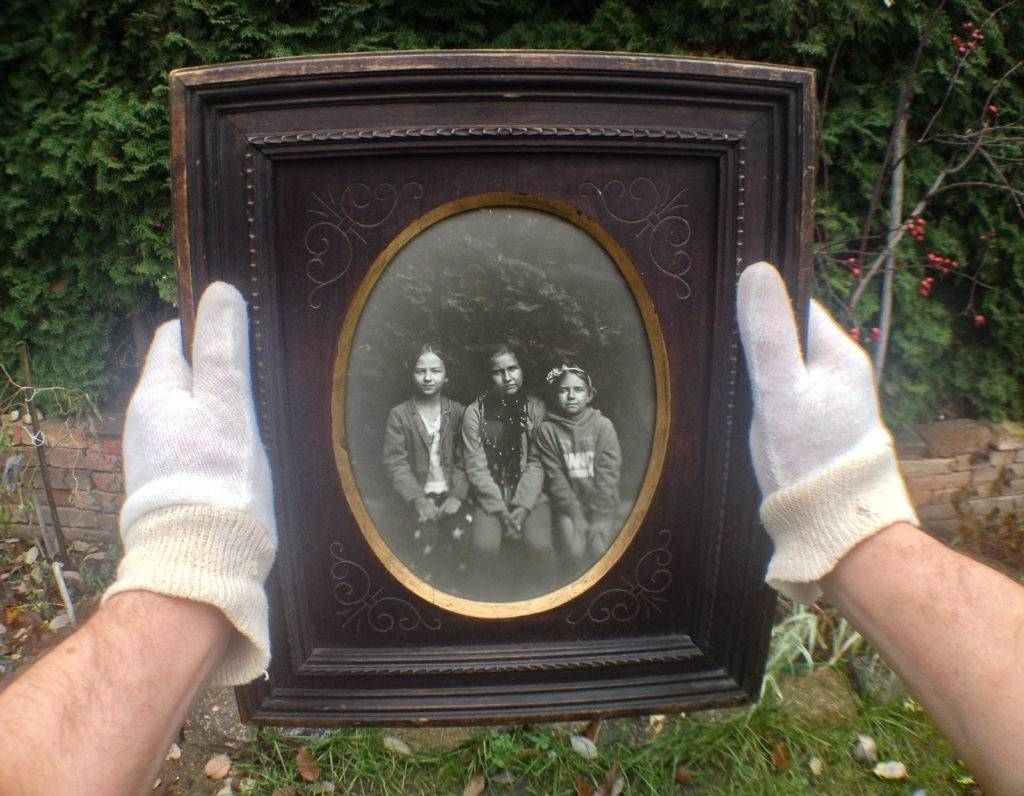 A positive for collodion negative