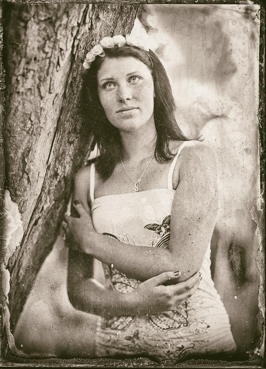 Bára, Tintype, Eastman Kodak