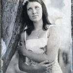 Bára - fotografovaná na kolodium