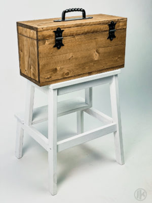 Wooden WP Travel/Storage Box