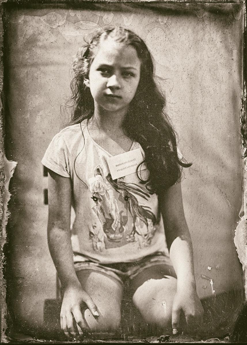 Olivie, Tintype, Eastman Kodak